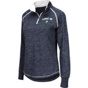 Colosseum Women's UNC-Wilmington Seahawks Blue Bikram Quarter-Zip Top