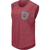Colosseum Athletics Women's Indiana Hoosiers Crimson Pocket Tank Top