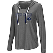 Colosseum Women's Penn State Nittany Lions Grey Podium Featherweight Hoodie