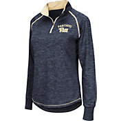 Colosseum Women's Pitt Panthers Blue Bikram Quarter-Zip Top