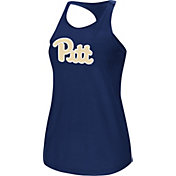 Colosseum Women's Pittsburgh Panthers Blue Mesh Tank