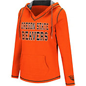 Colosseum Women's Oregon State Beavers Orange Spike Fleece Hoodie