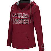 Colosseum Women's South Carolina Gamecocks Garnet Spike Fleece Hoodie