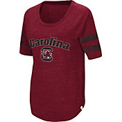 Colosseum Women's South Carolina Gamecocks Garnet Bean Babbitt Raglan T-Shirt