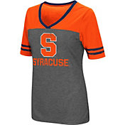Colosseum Women's Syracuse Orange Grey McTwist Jersey T-Shirt