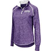 Colosseum Women's TCU Horned Frogs Purple Bikram Quarter-Zip Top