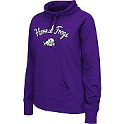 Colosseum Women's TCU Horned Frogs Purple Funnel Neck Fleece Pullover