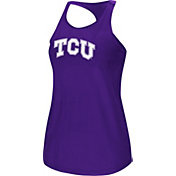 Colosseum Women's TCU Horned Frogs Purple Mesh Tank