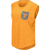 Colosseum Athletics Women's Tennessee Volunteers Tennessee Orange Pocket Tank Top