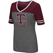 Colosseum Athletics Women's Texas AM Aggies McTwist Jersey T-Shirt