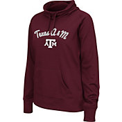 Colosseum Women's Texas A&M Aggies Maroon Funnel Neck Fleece Pullover