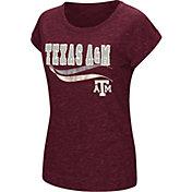 Colosseum Athletics Women's Texas AM Aggies Maroon Speckled Yarn T-Shirt