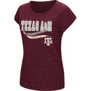 Colosseum Women's Texas A&M Aggies Maroon Speckled Yarn T-Shirt