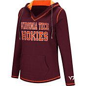 Colosseum Women's Virginia Tech Hokies Maroon Spike Fleece Hoodie