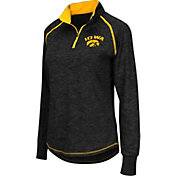Colosseum Women's Iowa Hawkeyes Black Bikram Quarter-Zip Top