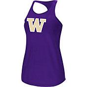 Colosseum Women's Washington Huskies Purple Mesh Tank