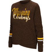 Colosseum Women's Wyoming Cowboys Brown Birdie Fleece Pullover