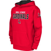 Colosseum Youth Ball State Cardinals Cardinal Fleece Hoodie