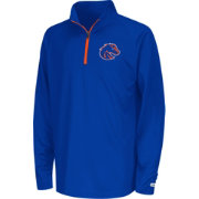 Colosseum Youth Boise State Broncos Blue Draft Performance Quarter-Zip