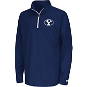 Colosseum Youth BYU Cougars Blue Draft Performance Quarter-Zip