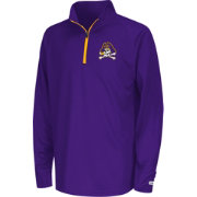 Colosseum Youth East Carolina Pirates Orange Draft Performance Quarter-Zip
