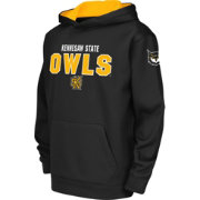 Colosseum Youth Kennesaw State Owls Black Fleece Hoodie