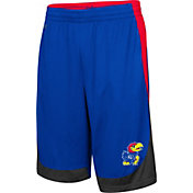 Colosseum Youth Kansas Jayhawks Blue Hall of Fame Shorts