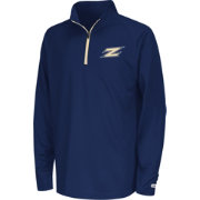 Colosseum Youth Akron Zips Navy Draft Performance Quarter-Zip