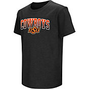 Colosseum Youth Oklahoma State Cowboys Dual Blend Black T-Shirt