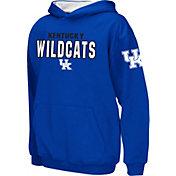 Colosseum Boys' Kentucky Wildcats Blue Pullover Hoodie