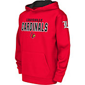 Colosseum Youth Louisville Cardinals Cardinal Red Fleece Hoodie