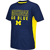 Colosseum Athletics Youth Michigan Wolverines Blue Vault T-Shirt