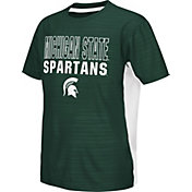 Colosseum Athletics Youth Michigan State Spartans Green Vault T-Shirt