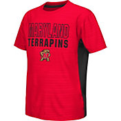 Colosseum Athletics Youth Maryland Terrapins Red Vault T-Shirt