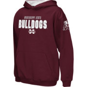 Colosseum Boys' Mississippi State Bulldogs Maroon Pullover Hoodie