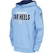 Colosseum Youth North Carolina Tar Heels Carolina Blue Fleece Hoodie