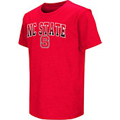 Colosseum Youth NC State Wolfpack Red Dual Blend T-Shirt
