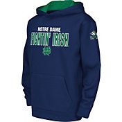 Colosseum Youth Notre Dame Fighting Irish Navy Fleece Hoodie