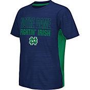 Colosseum Athletics Youth Notre Dame Fighting Irish Navy Vault T-Shirt