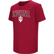 Colosseum Youth Indiana Hoosiers Crimson Dual Blend T-Shirt