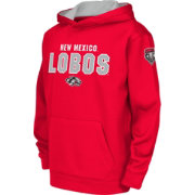 Colosseum Youth New Mexico Lobos Cherry Fleece Hoodie