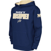 Colosseum Youth Navy Midshipmen Navy Fleece Hoodie