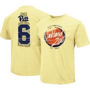 Colosseum Youth Pitt Panthers Oakland Zoo Gold Dual Blend T-Shirt