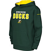 Colosseum Youth Oregon Ducks Green Fleece Hoodie