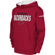 Colosseum Youth Arkansas Razorbacks Cardinal Fleece Hoodie