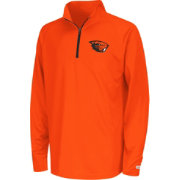 Colosseum Youth Oregon State Beavers Orange Draft Performance Quarter-Zip