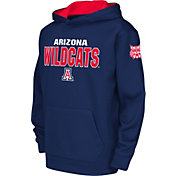 Colosseum Youth Arizona Wildcats Navy Fleece Hoodie