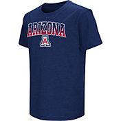 Colosseum Youth Arizona Wildcats Navy Dual Blend T-Shirt