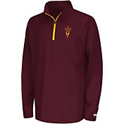 Colosseum Youth Arizona State Sun Devils Maroon Draft Performance Quarter-Zip