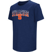 Colosseum Youth Syracuse Orange Blue Dual Blend T-Shirt